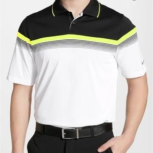 Nike Golf L Major Moment Polo Dri-Fit Colour Block